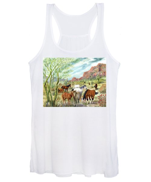 Wild And Free Forever Women's Tank Top