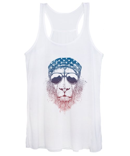 Wild Lion II Women's Tank Top