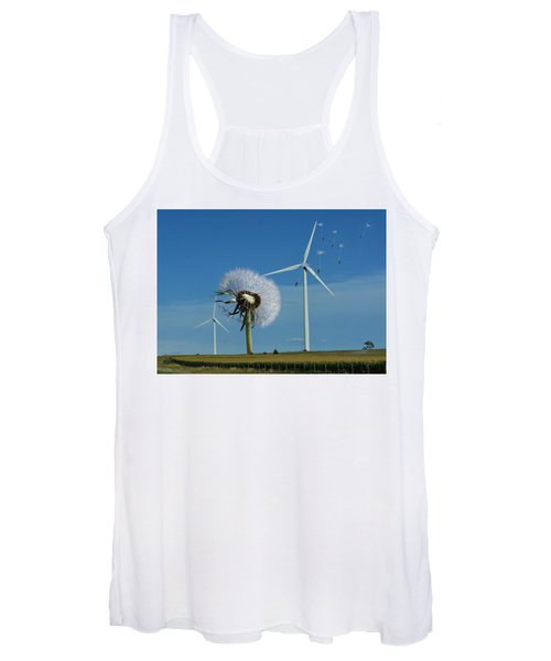 Wind Power Women's Tank Top