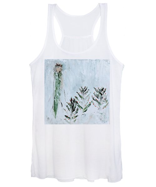 Winter Angel Women's Tank Top