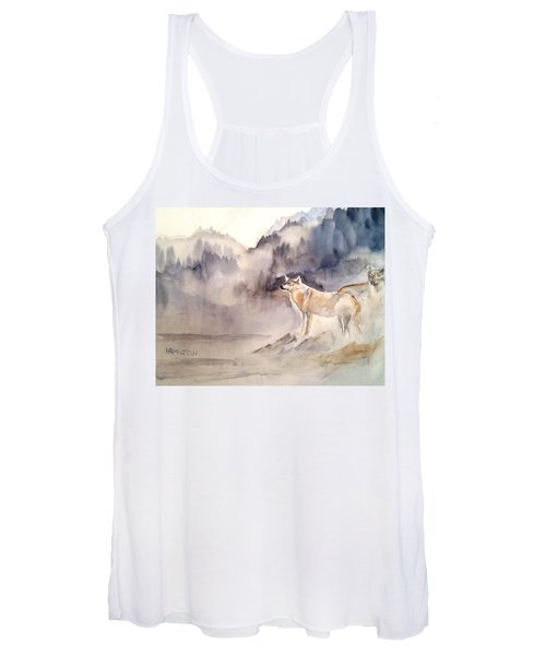 Wolves On Guard Women's Tank Top
