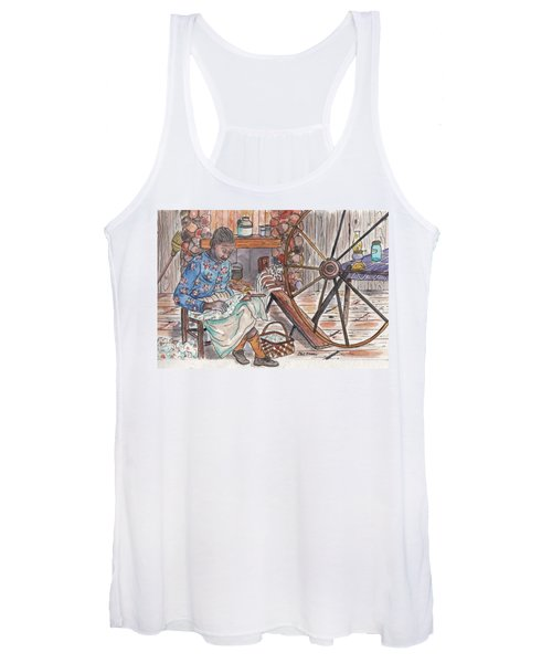 Working Cotton The Old Fashioned Way Women's Tank Top