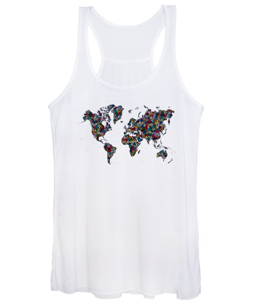 World Map-1 Women's Tank Top