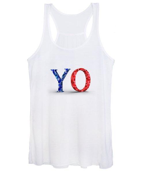 Y O Women's Tank Top