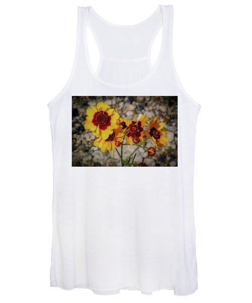 Yellow Wildflowers Women's Tank Top