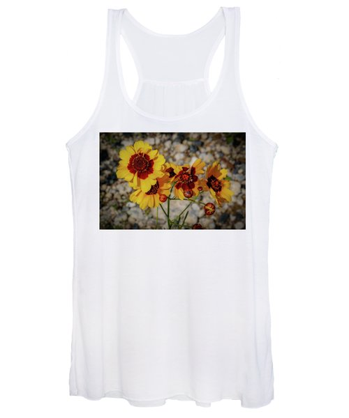 Yellow Wildflowers Women's Tank Top