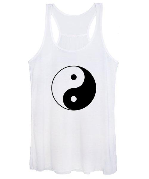 Yin And Yang Women's Tank Top