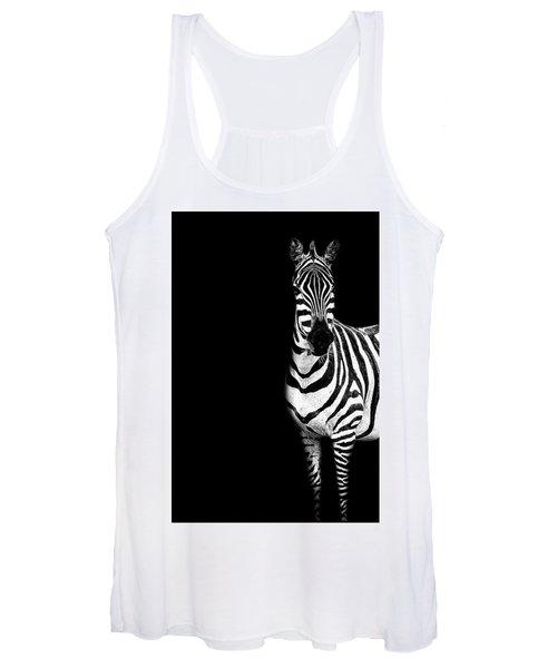 Zebra Drama Women's Tank Top