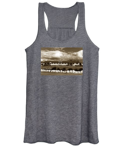 The Fort Ord Station Hospital Administration Building T-3010 Building Fort Ord Army Base Circa 1950 Women's Tank Top