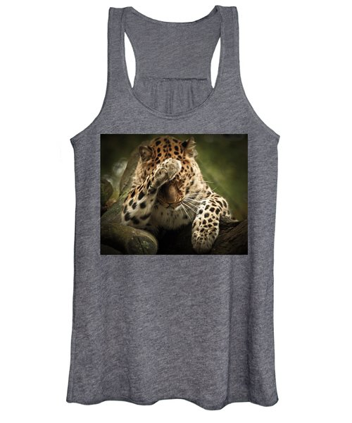 Amur Leopard Women's Tank Top