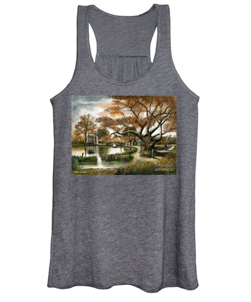 Autumn Stroll Women's Tank Top