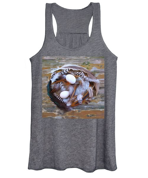 53. Feather Wreath Can Be Ordered Women's Tank Top