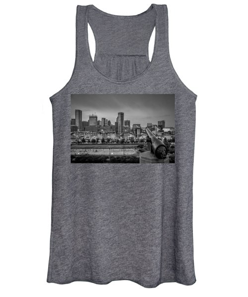 Federal Hill In Baltimore Maryland Women's Tank Top