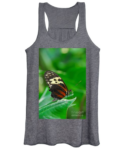 D5l15 Butterfly At Franklin Park Conservatory Women's Tank Top