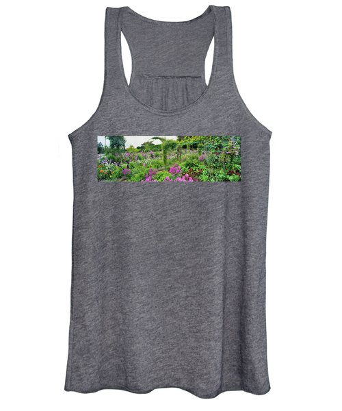 Garden Of Claude Monets House, Giverny Women's Tank Top