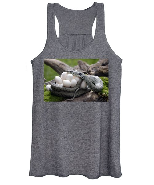 Grass Snake With Eggs Women's Tank Top