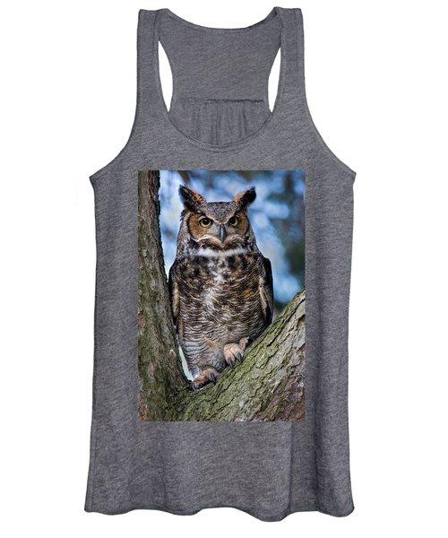Great Horned Owl Women's Tank Top