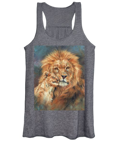 Lion Love Women's Tank Top