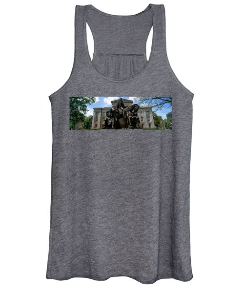 Low Angle View Of Statue Women's Tank Top