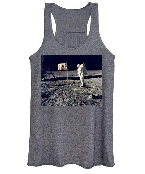 Man On The Moon Women's Tank Top