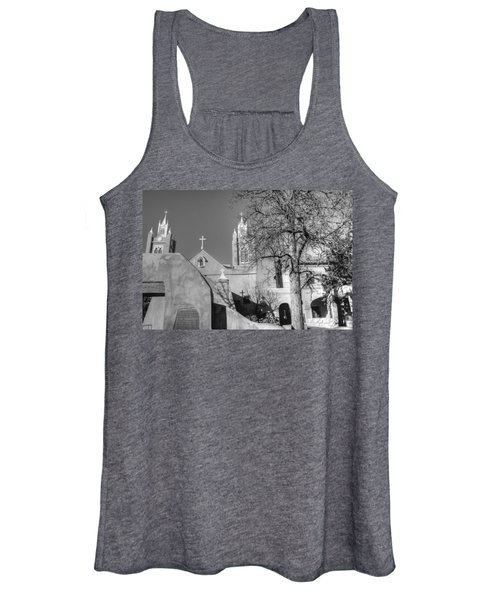 Mission In Black And White Women's Tank Top