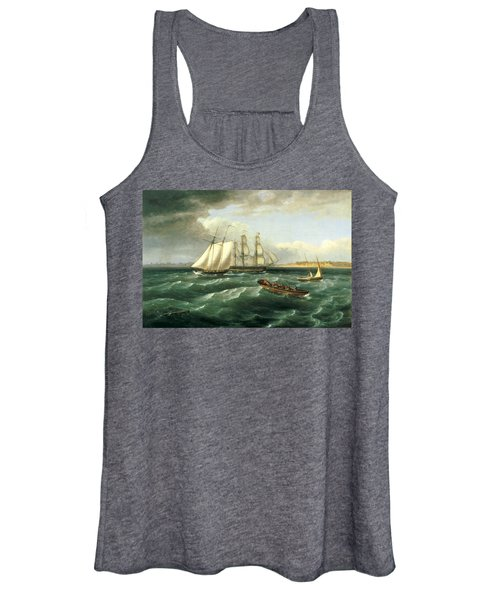 Mouth Of The Delaware Women's Tank Top