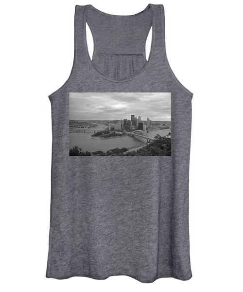 Pittsburgh - View Of The Three Rivers Women's Tank Top