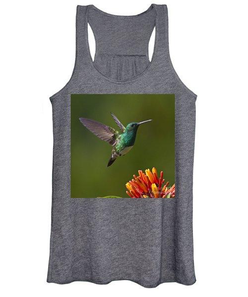 Snowy-bellied Hummingbird Women's Tank Top