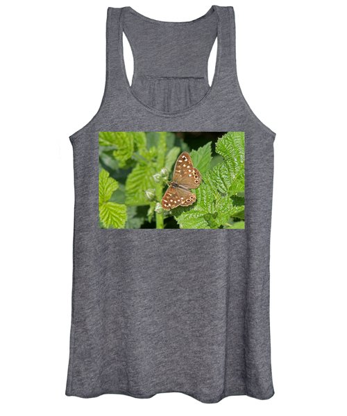 Speckled Wood Butterfly  Women's Tank Top