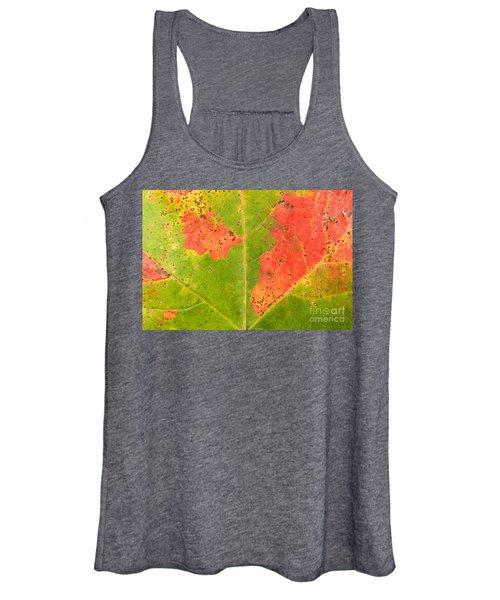 Sugar Maple Leaf Women's Tank Top