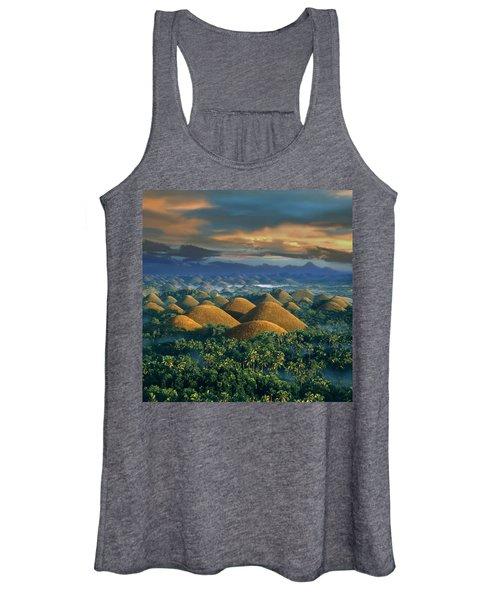 Sunrise - Chocolate Hills Women's Tank Top