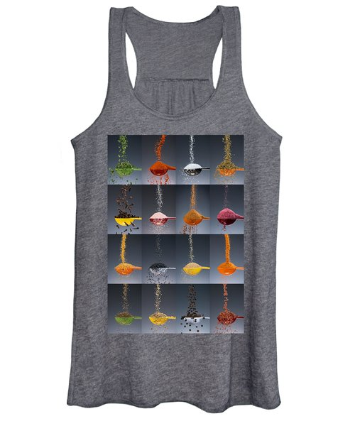 1 Tablespoon Flavor Collage Women's Tank Top