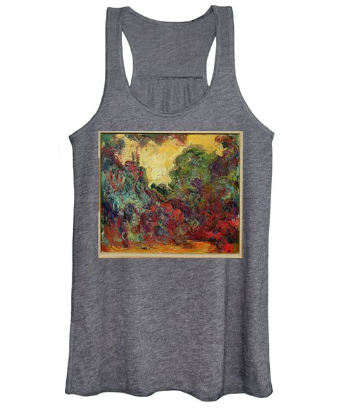 The Artists House From The Rose Garden, 1922-24 Oil On Canvas Women's Tank Top
