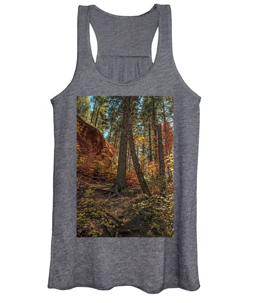 West Fork Fall Color Women's Tank Top