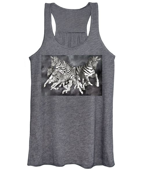 Zebras  Women's Tank Top