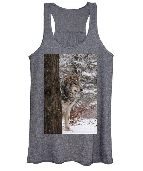 Timber Wolf Women's Tank Top