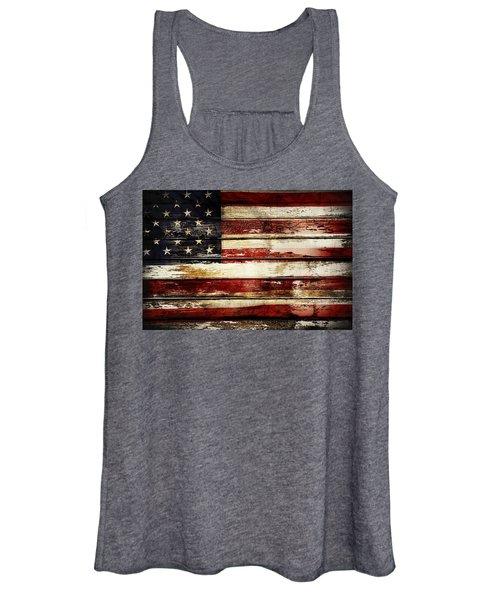 American Flag 33 Women's Tank Top