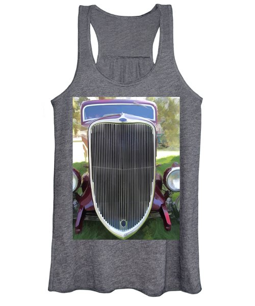 1933 Ford Grille Women's Tank Top