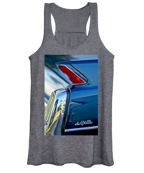 1962 Cadillac Deville Taillight Women's Tank Top