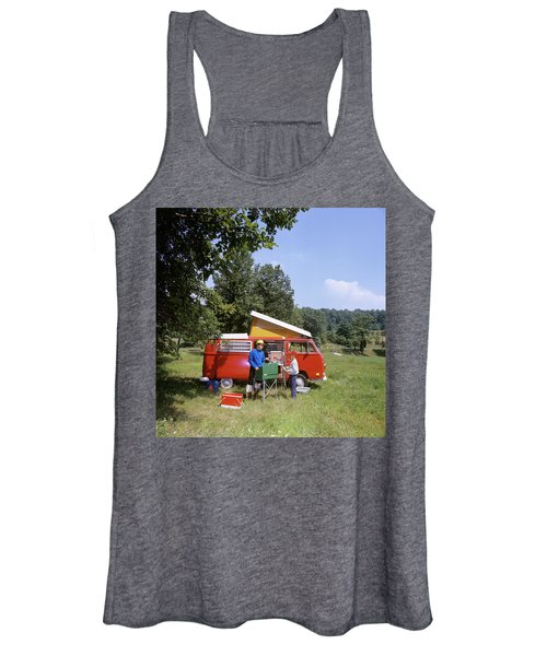1970s Father And Son Cooking Women's Tank Top
