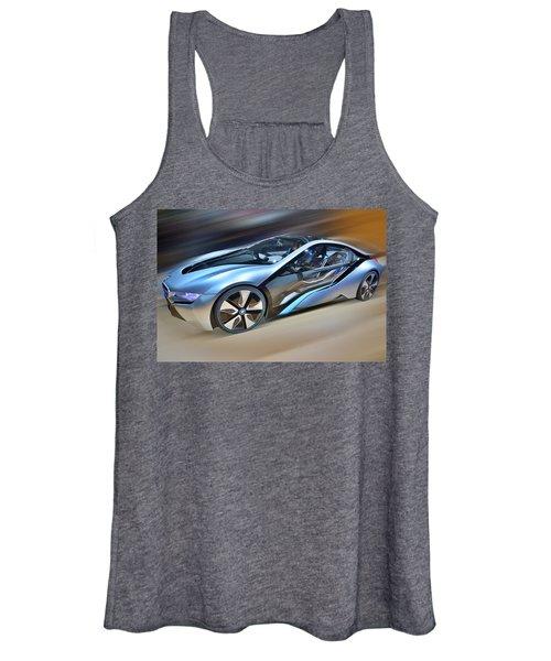 B M W  Edrive I8  Concept  2014 Women's Tank Top