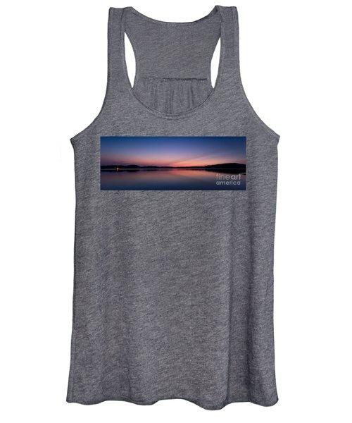 Lake Lanier After Sunset Women's Tank Top