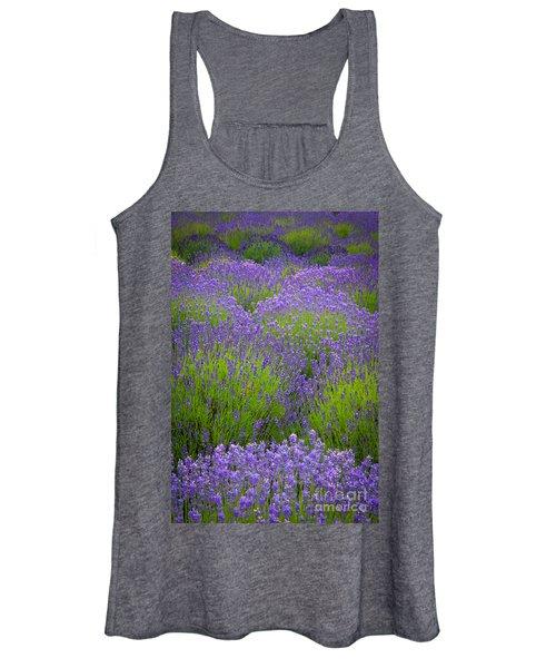 Lavender Study Women's Tank Top
