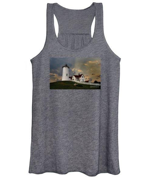 Nobska Lighthouse Color  Women's Tank Top