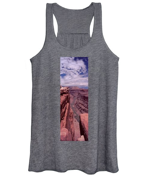 River Passing Through A Canyon Women's Tank Top