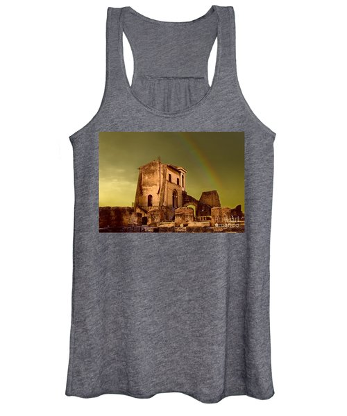 Ruin At Palatine Hill Women's Tank Top