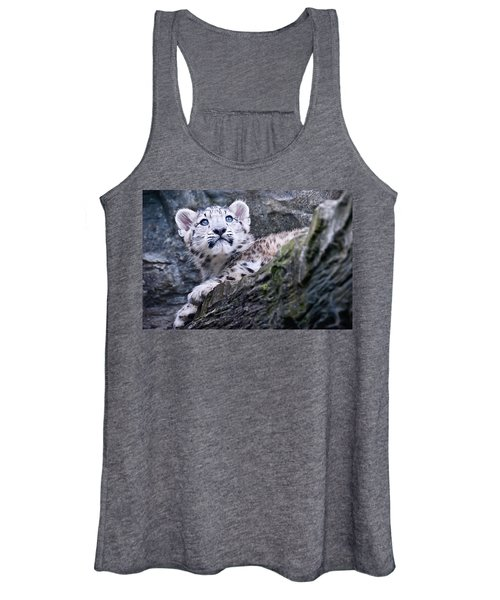 Snow Leopard Cub Women's Tank Top