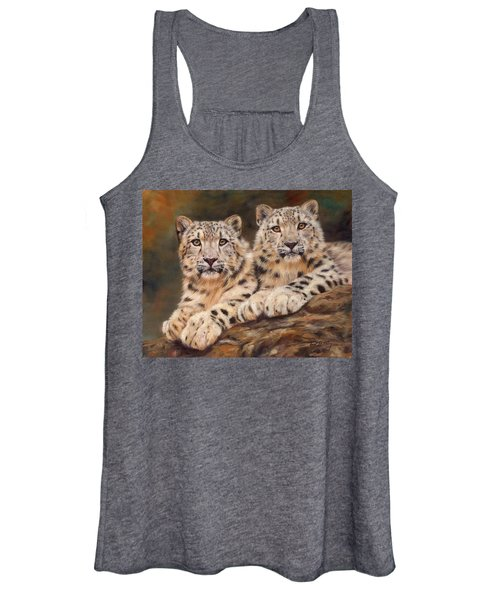 Snow Leopards Women's Tank Top