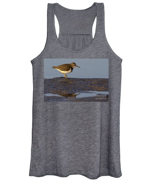 Spotted Sandpiper Reflection Women's Tank Top