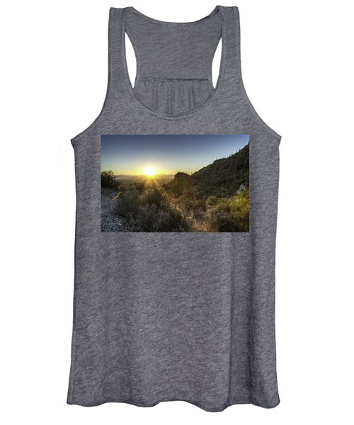 Winter Sunset Women's Tank Top